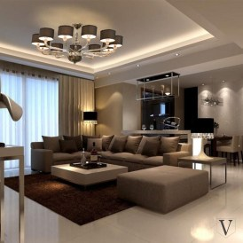 Magnificient Lighting Design Ideas For Stunning Living Room Décor20
