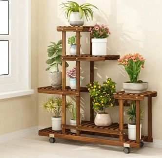 Newest Flower Shelf Design Ideas That Will Amaze You06