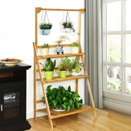 Newest Flower Shelf Design Ideas That Will Amaze You10