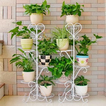 Newest Flower Shelf Design Ideas That Will Amaze You15