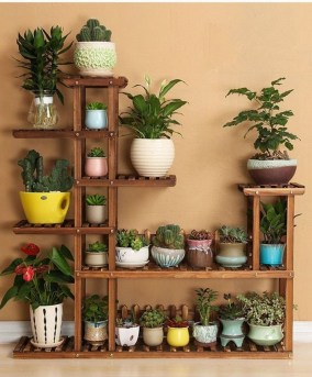Newest Flower Shelf Design Ideas That Will Amaze You17