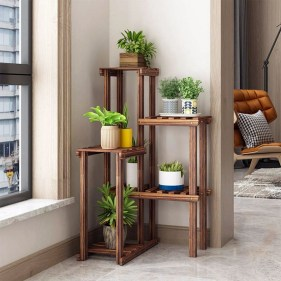 Newest Flower Shelf Design Ideas That Will Amaze You27