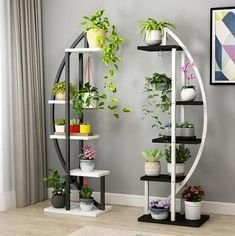 Newest Flower Shelf Design Ideas That Will Amaze You29