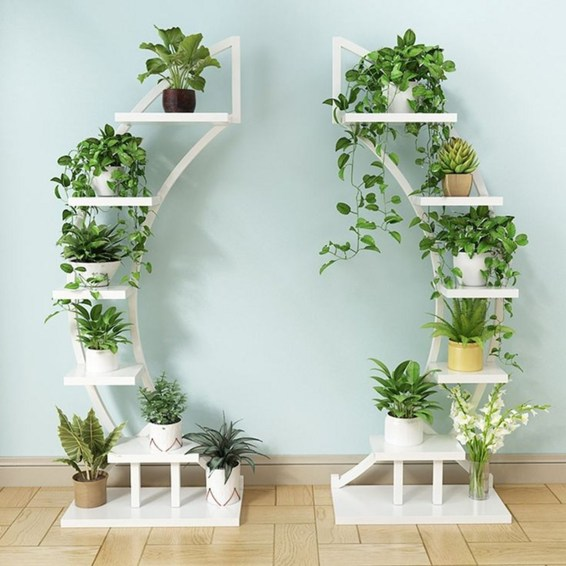 Newest Flower Shelf Design Ideas That Will Amaze You32