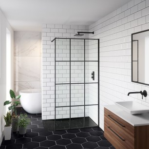Stunning Black Bathroom Shower Design Ideas That You Need To Copy33