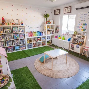 Trendy Kids Playroom Design Ideas To Try This Year27