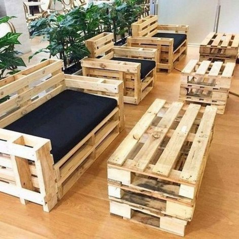 Unordinary Wooden Pallet Furniture Ideas That Is Easy For You To Make02