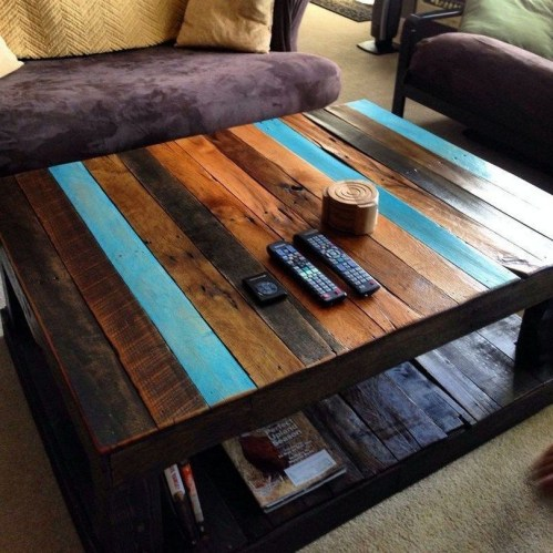 Unordinary Wooden Pallet Furniture Ideas That Is Easy For You To Make23