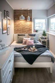 Unusual Small Bedroom Design Ideas For A Narrow Space24