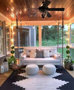 Wonderful Outdoor Living Room Design Ideas For Enjoying Your Days19