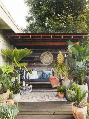 Wonderful Outdoor Living Room Design Ideas For Enjoying Your Days23