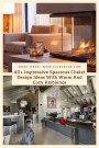 40+ Impressive Spacious Chalet Design Ideas With Warm And Cozy Ambience