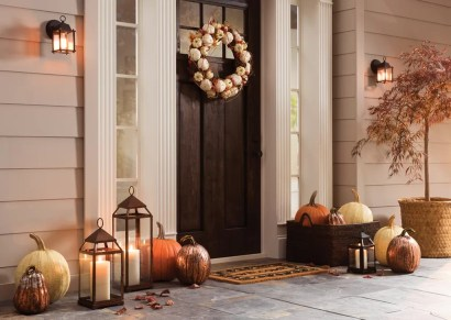 Affordable Fall Home Design Ideas On Budget 23