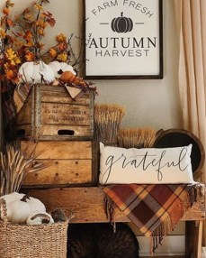 Amazing Diy Fall Farmhouse Decorating Ideas That You Need To Try 38
