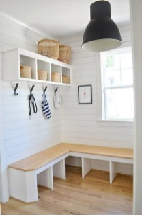Awesome Farmhouse Mudroom Decorating Ideas To Try Asap 03