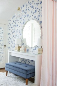 Best Bedroom Wallpaper Decor Ideas That Suitable For Your Family 21