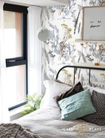 Best Bedroom Wallpaper Decor Ideas That Suitable For Your Family 42