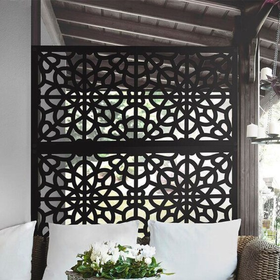 Enchanting Living Fences Design Ideas That Suitable For Your Yard 50