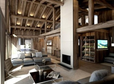 Impressive Spacious Chalet Design Ideas With Warm And Cosy Ambience 20