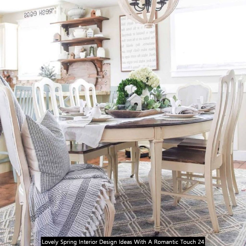Lovely Spring Interior Design Ideas With A Romantic Touch 24