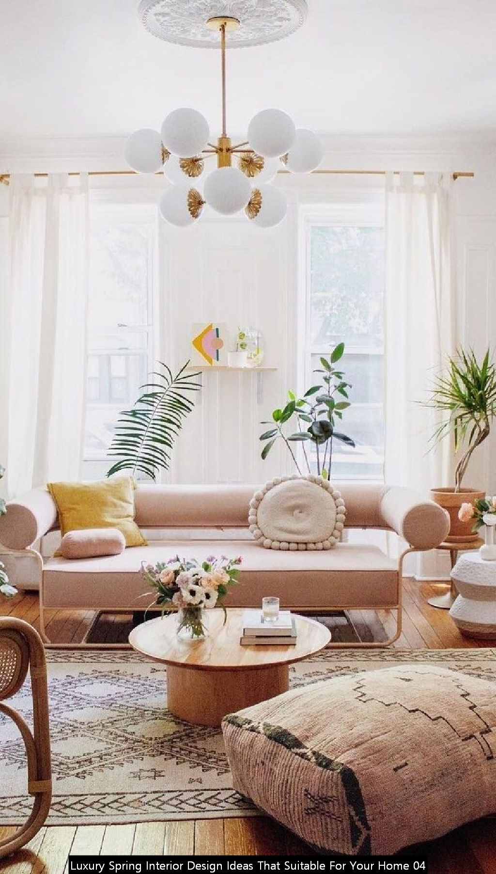 Luxury Spring Interior Design Ideas That Suitable For Your Home 04