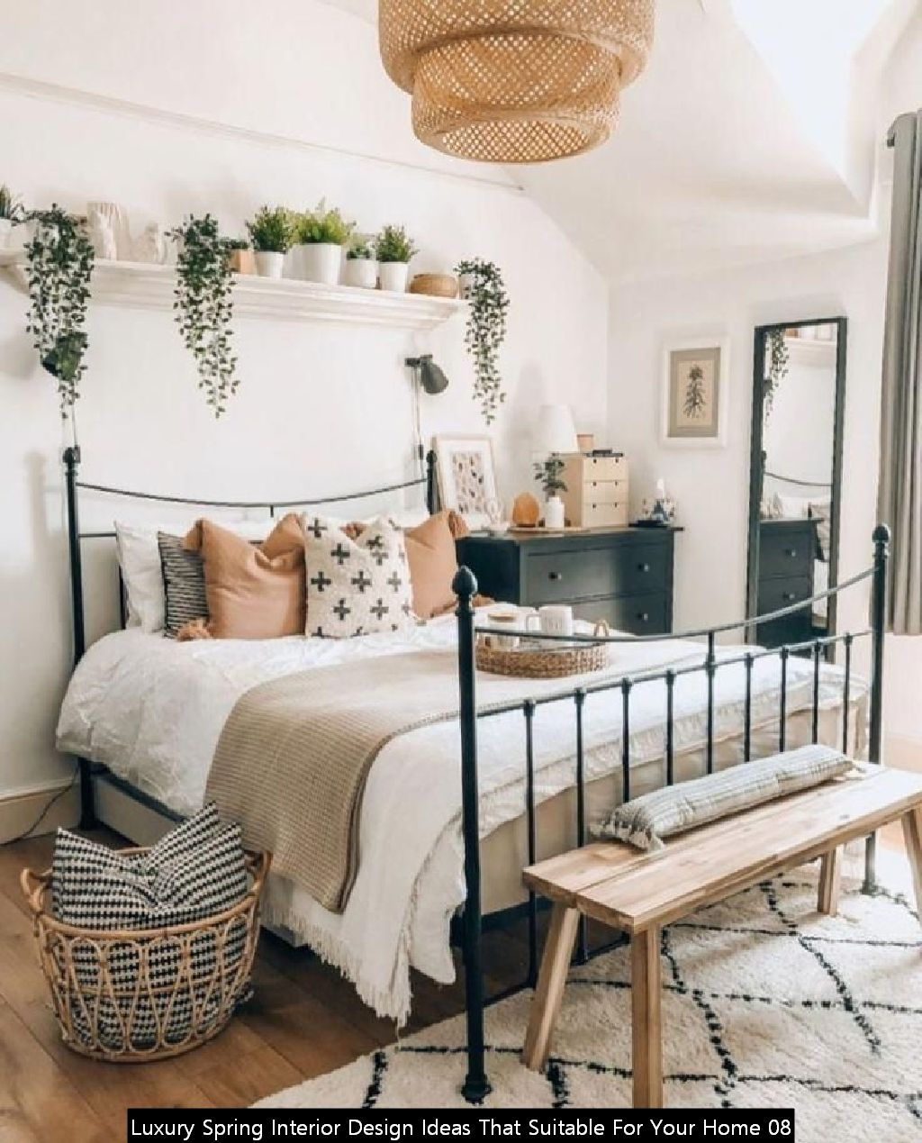 Luxury Spring Interior Design Ideas That Suitable For Your Home 08