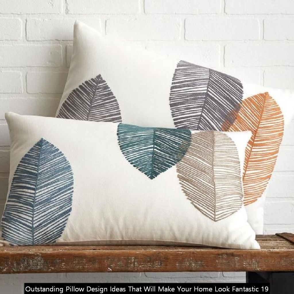 Outstanding Pillow Design Ideas That Will Make Your Home Look Fantastic 19