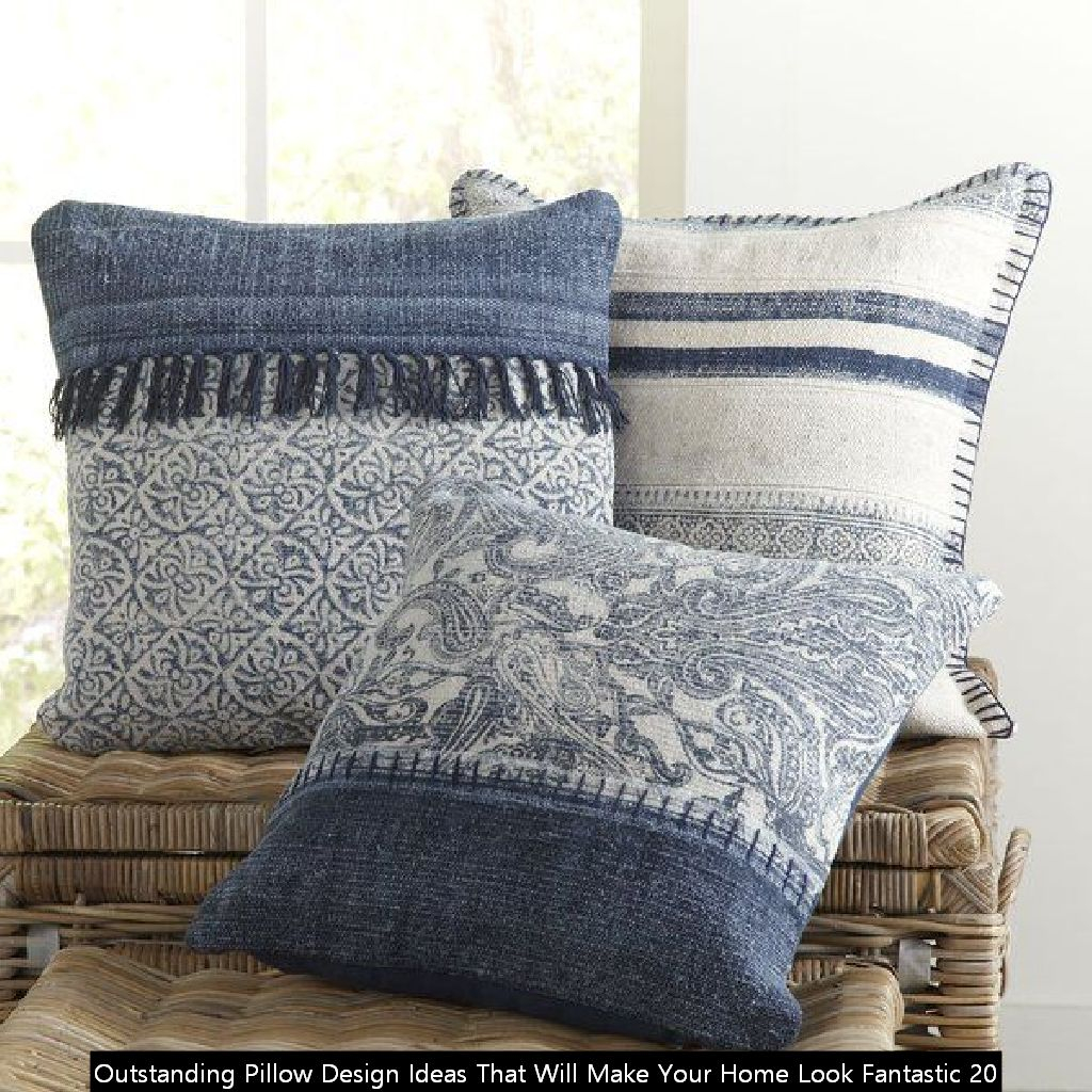 Outstanding Pillow Design Ideas That Will Make Your Home Look Fantastic 20