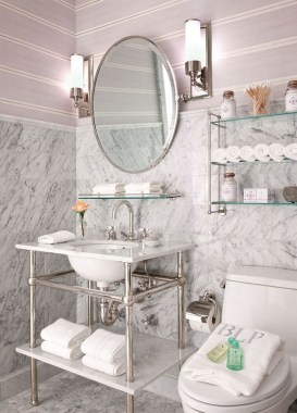 Smart Space Saving Bathroom Solutions Ideas That You Need To Copy 36