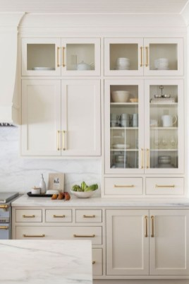 Top White Kitchen Cabinetry Design Ideas That Looks More Modern 26