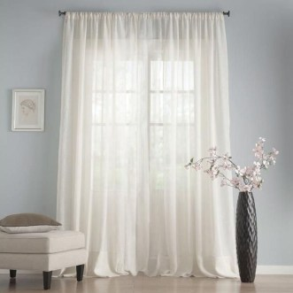 Wonderful Farmhouse Curtains Decor Ideas For Living Room To Try Asap 14