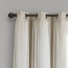 Wonderful Farmhouse Curtains Decor Ideas For Living Room To Try Asap 21