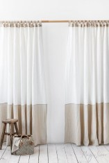 Wonderful Farmhouse Curtains Decor Ideas For Living Room To Try Asap 24