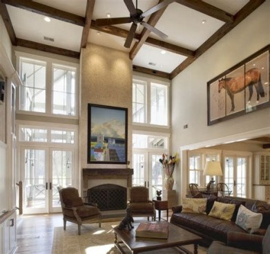 Amazing Small Living Room With Vaulted Ceiling 05