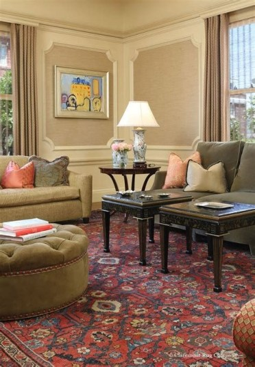 Best Ideas For Traditional Living Rooms With Oriental Rugs 03