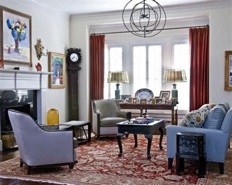 Best Ideas For Traditional Living Rooms With Oriental Rugs 20