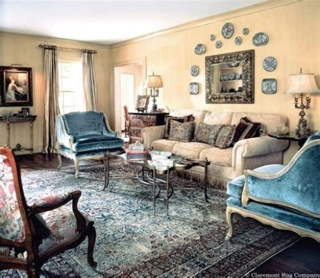 Best Ideas For Traditional Living Rooms With Oriental Rugs 34