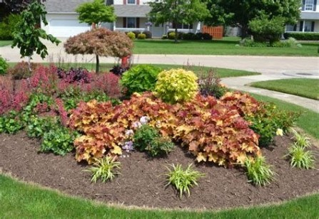 Brilliant Front Yard Corner Lot Landscaping Ideas 26