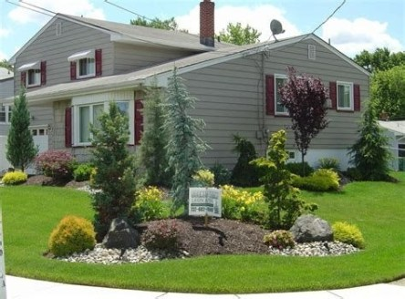 Brilliant Front Yard Corner Lot Landscaping Ideas 29