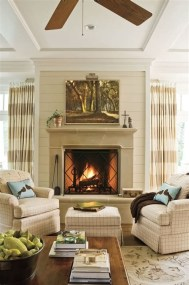 Cool Chimney Ideas For Living Room 01