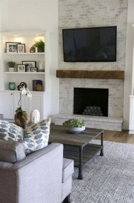 Cool Chimney Ideas For Living Room 02