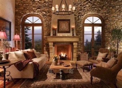 Cool Chimney Ideas For Living Room 32