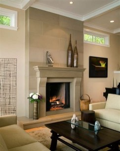Cool Chimney Ideas For Living Room 33