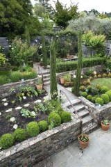 Totally Cute Sloped Backyard Landscaping Ideas 36