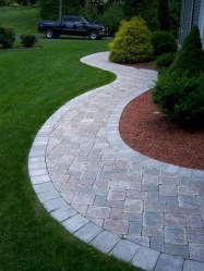 Totally Inspiring Front Yard Pathway Ideas 16