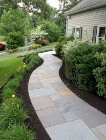 Totally Inspiring Front Yard Pathway Ideas 31