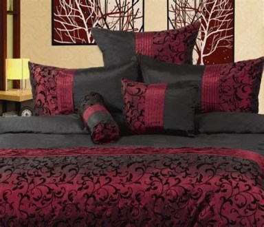 Awesome Burgundy And Grey Bedroom Ideas 16