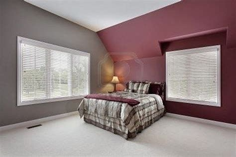 Awesome Burgundy And Grey Bedroom Ideas 18
