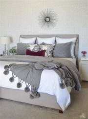 Awesome Burgundy And Grey Bedroom Ideas 23