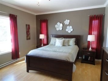 Awesome Burgundy And Grey Bedroom Ideas 38